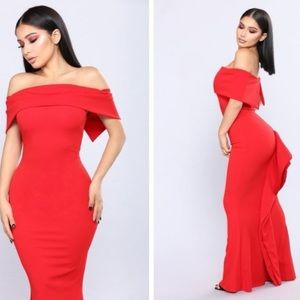 Fashion Nova | floor length gown